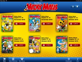Micky Maus Magazin App