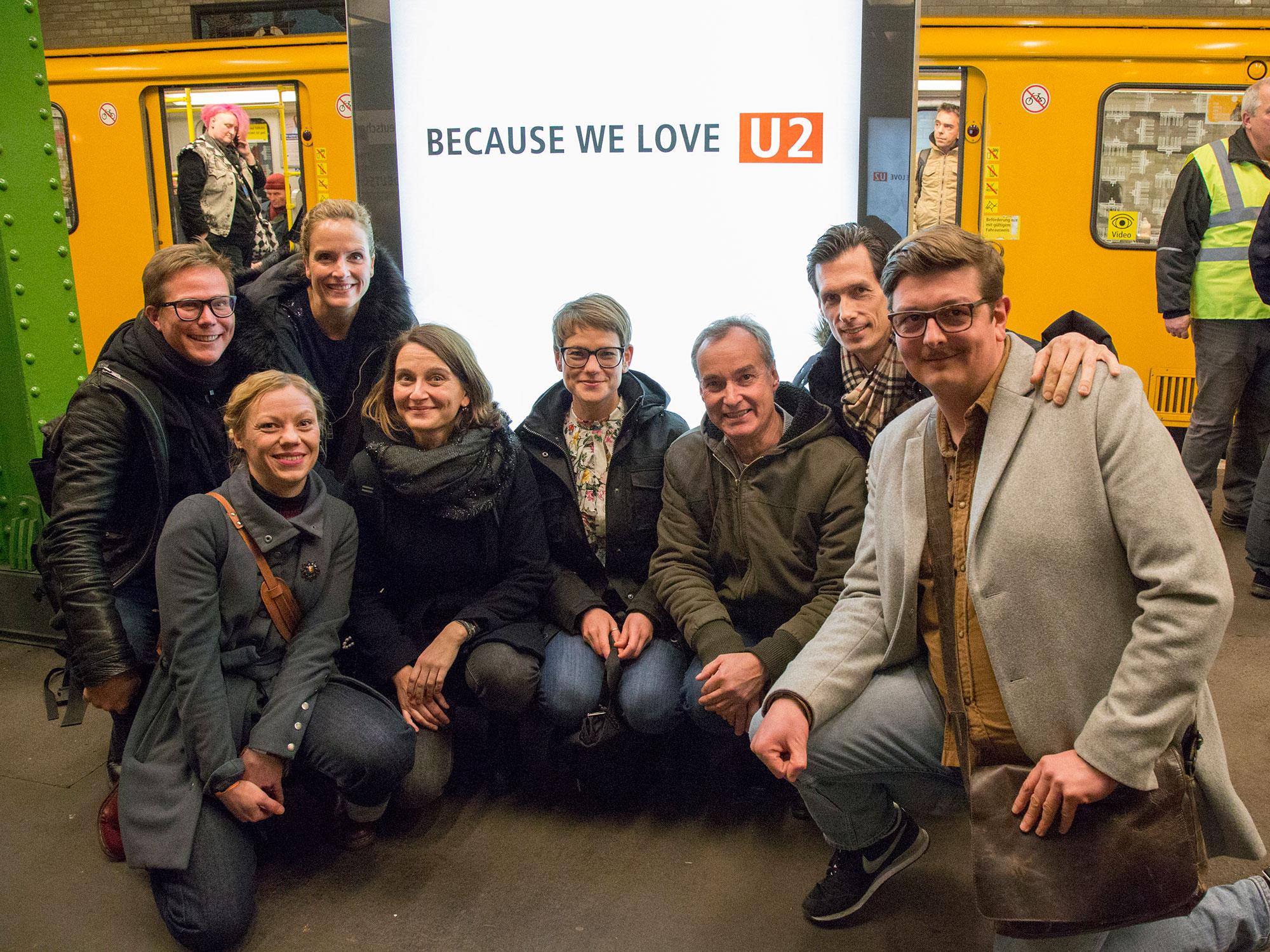 GUD.Berlin und BVG Projektteam ©Verena Brandt
