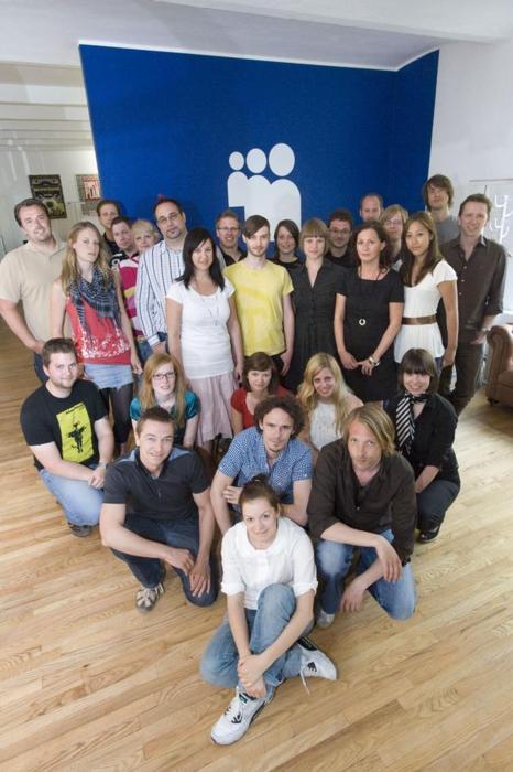 Ich im MySpace Deutschland Team im Jahre 2009