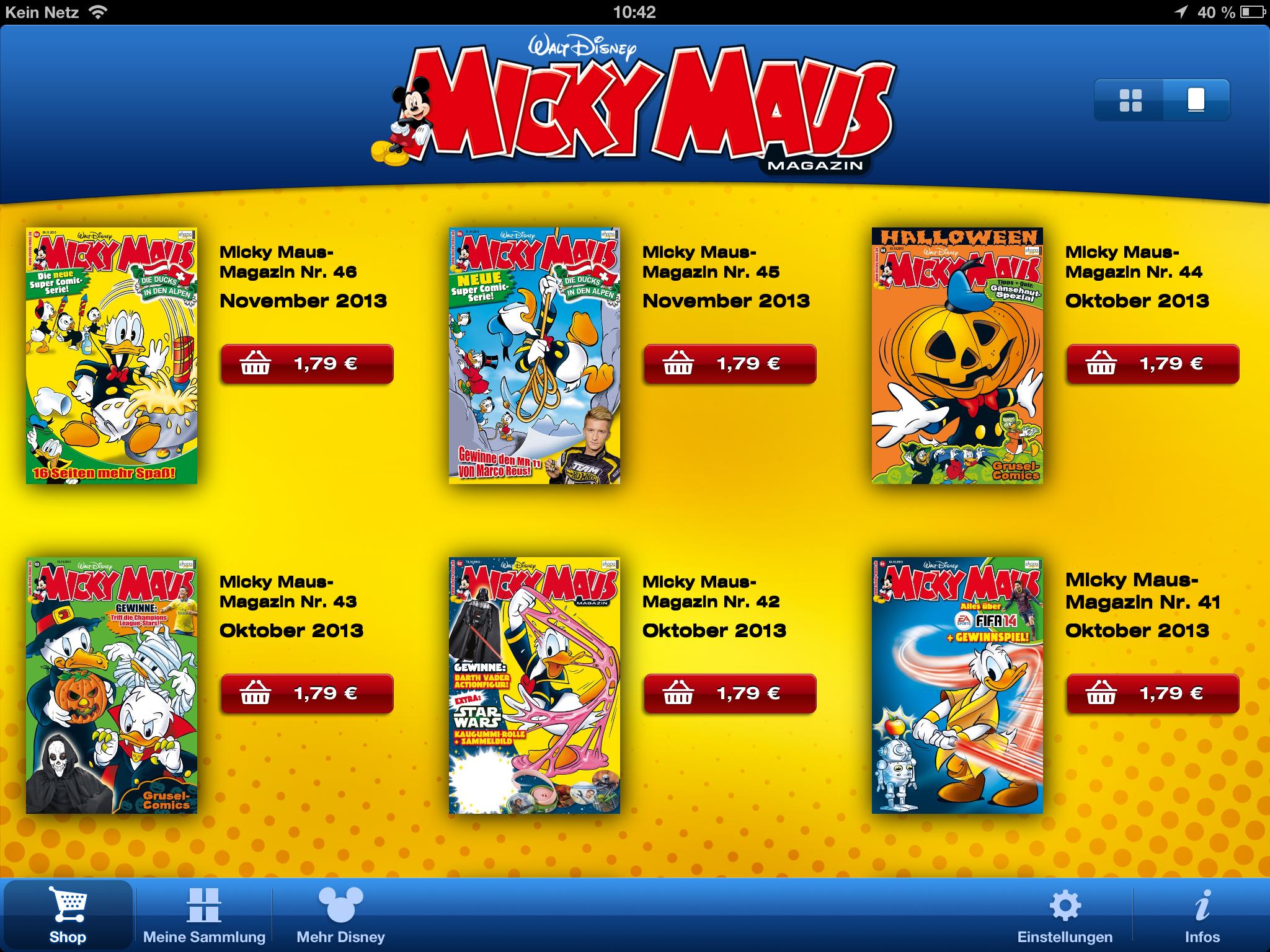 Micky Maus Magazin © Egmont Ehapa Verlag / Egmont Kids Media