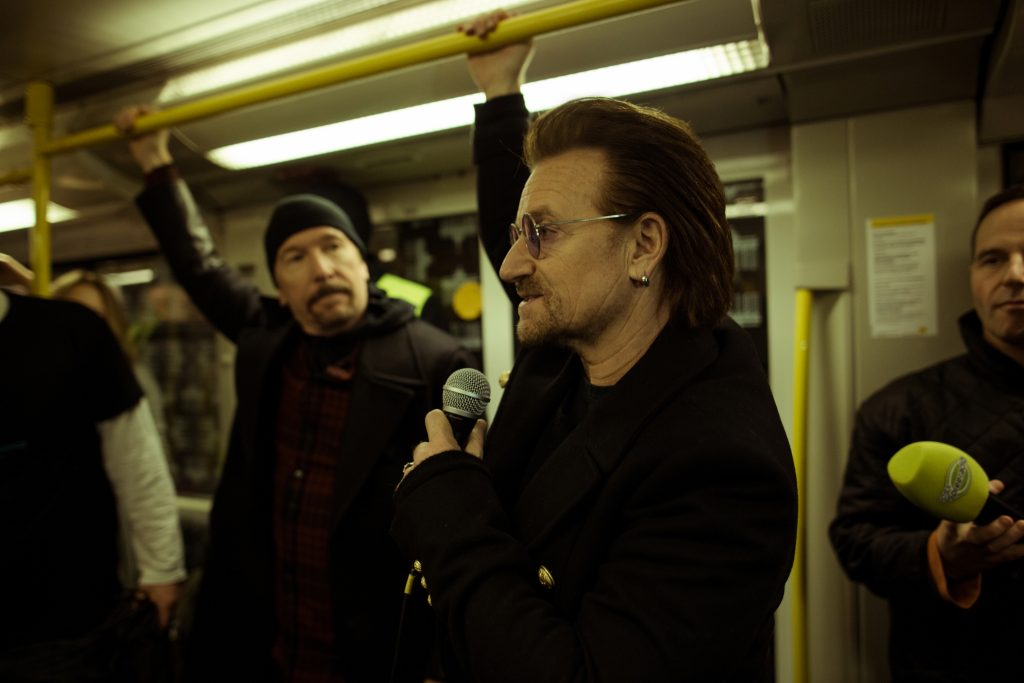 Bono und The Edge in der U2 // ©Philipp Gladsome